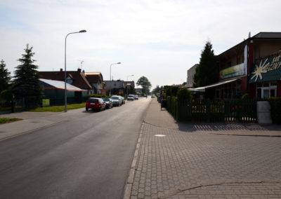 Główna ulica Grzybowa